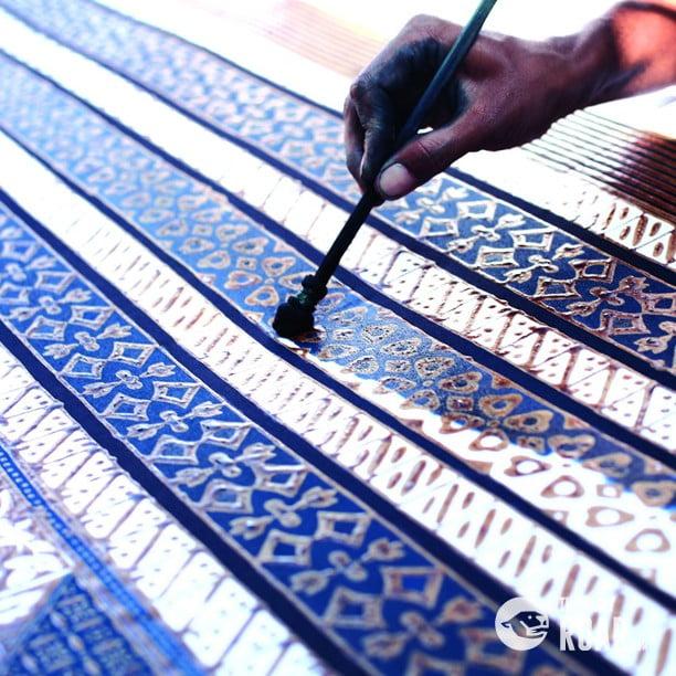 The history of batik, Indonesia