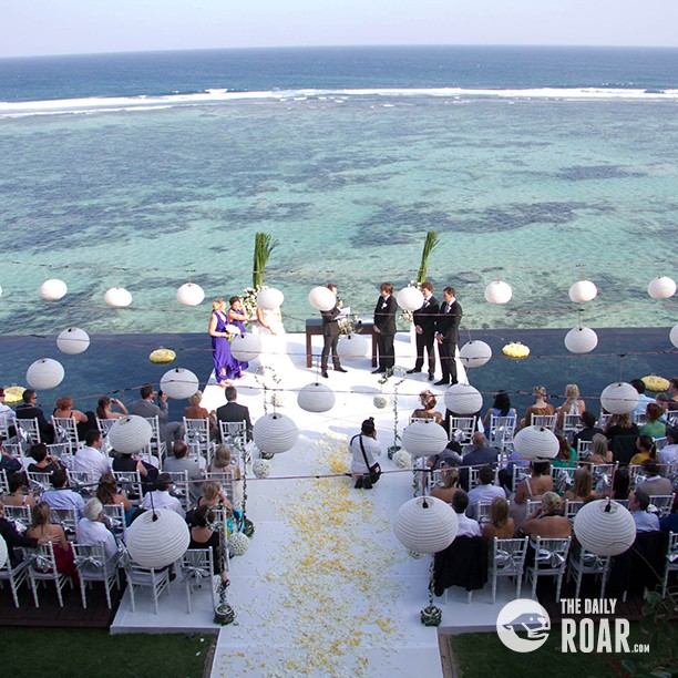 Popular places for bali weddings the daily roar for Bali mariage location