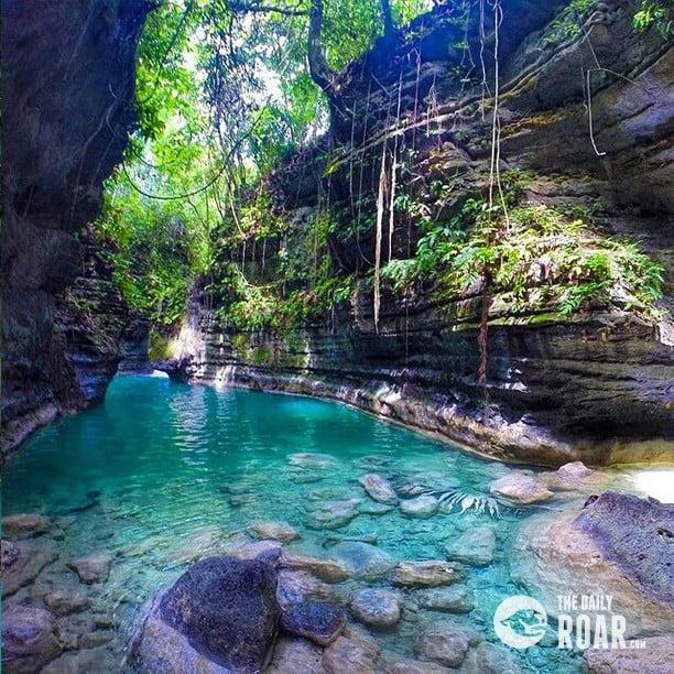 Canyoneering In Badian Cebu The Daily Roar
