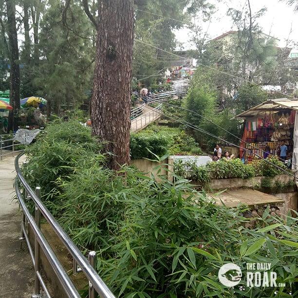 Baguio Tourist Spot Mines View